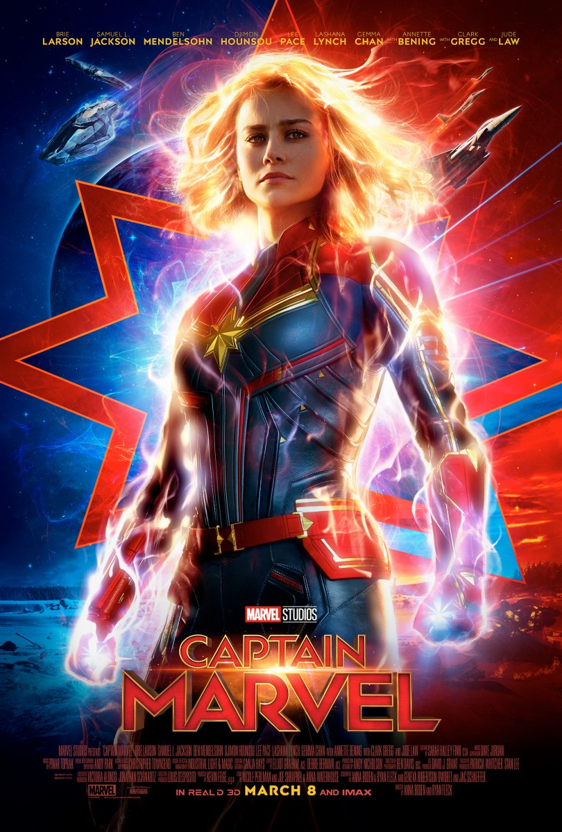 Captain Marvel Now in Theaters